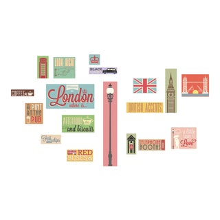 London Icons Wall Decals