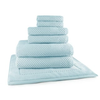 Harlequin Diamond 7-Piece Towel Set (2-Bath, 2-Hand, 2-Wash and 1 Tub Mat)