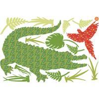 Amos The Crocodile Wall Art Kit