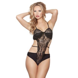 Popsi Lingerie Strapped Bodysuit (3 options available)