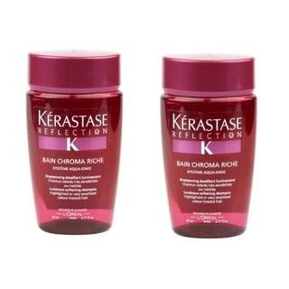 Kerastase Bain 2.71-ounce Chroma Riche Shampoo (Pack of 2)