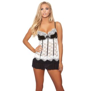 Popsi Lingerie Maid for you Babydoll with Matching Panty (Regular and Plus)