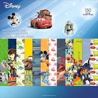 "Disney Single-Sided Mega Paper Pad 12""X12"" 150/Pkg-Boy 2, 50 Designs/3 Each"