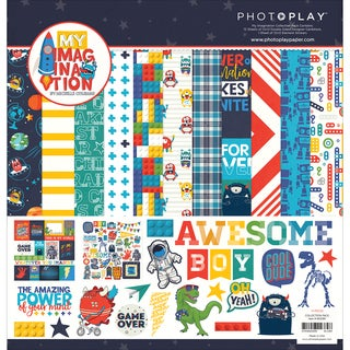 "Photo Play Collection Pack 12""X12""-My Imagination"