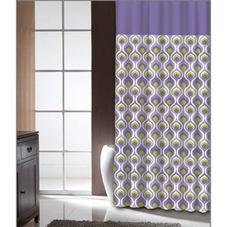 Famous Home Curved Dusk Shower Curtain