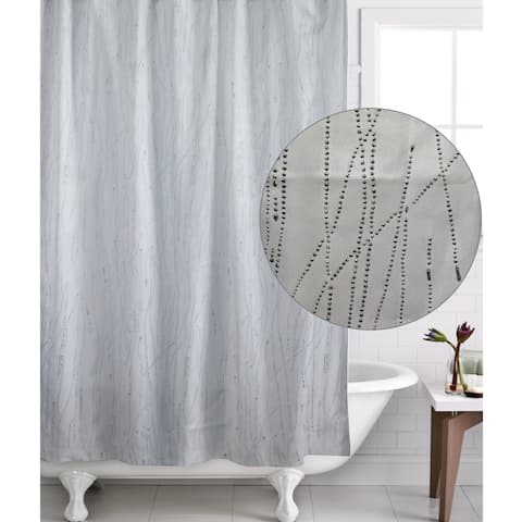 Famous Home Drizzle Shower Curtain