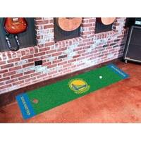 "NBA - Golden State Warriors Putting Green Runner 18""x72"""