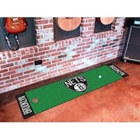 "NBA - Brooklyn Nets Putting Green Runner 18""x72"""
