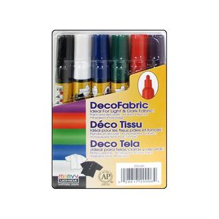 Uchida Decofabric Marker Set Fine Pt Primary