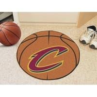 """NBA - Cleveland Cavaliers Basketball Mat 27"""" diameter"""