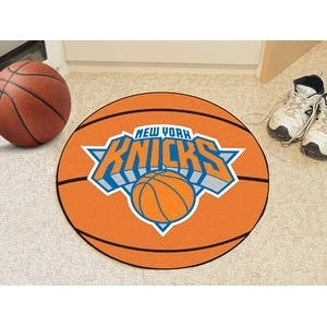 "NBA - New York Knicks Basketball Mat 27"" diameter"
