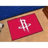 "NBA - Houston Rockets Starter Rug 19"" x 30"""