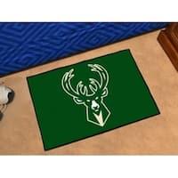 "NBA - Milwaukee Bucks Starter Rug 19"" x 30"""