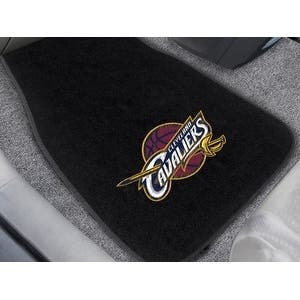 """NBA - Cleveland Cavaliers 2-pc Embroidered Car Mats 18""""x27"""""""