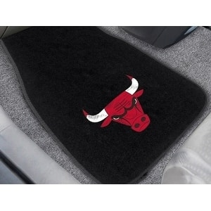 "NBA - Chicago Bulls 2-pc Embroidered Car Mats 18""x27"""