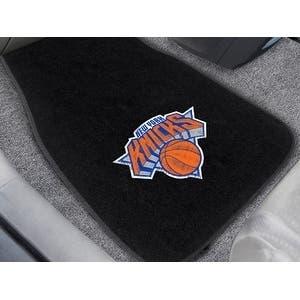 "NBA - New York Knicks 2-pc Embroidered Car Mats 18""x27"""