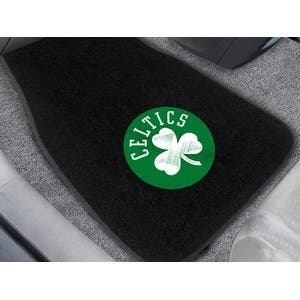 "NBA - Boston Celtics 2-pc Embroidered Car Mats 18""x27"""