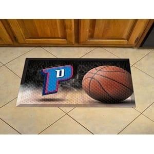 """NBA - Detroit Pistons Scraper Mat 19""""x30"""" - Ball"""