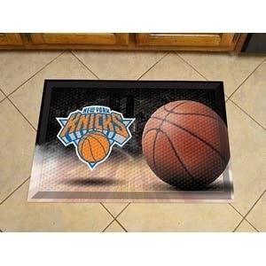 """NBA - New York Knicks Scraper Mat 19""""x30"""" - Ball"""