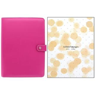 Webster's Pgs Color Crush Planner Kit A5 Fuchsia