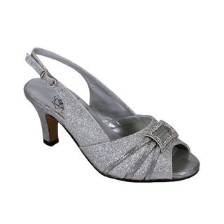 0f21e9f66 Buy Silver Women s Heels Online at Overstock