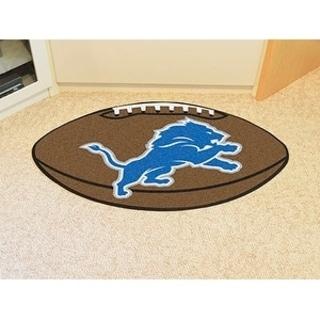 "NFL - Detroit Lions Football Rug 20.5""x32.5"""