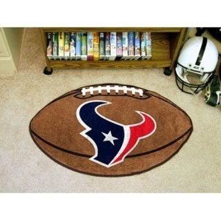 "NFL - Houston Texans Football Rug 20.5""x32.5"""