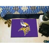 """NFL - Minnesota Vikings Starter Rug 19""""x30"""""""