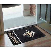 "NFL - New Orleans Saints Uniform Starter Rug 19""x30"""