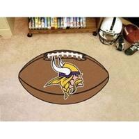 """NFL - Minnesota Vikings Football Rug 20.5""""x32.5"""""""