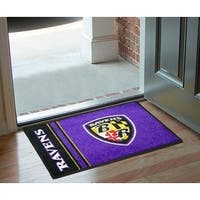 "NFL - Baltimore Ravens Uniform Starter Rug 19""x30"""