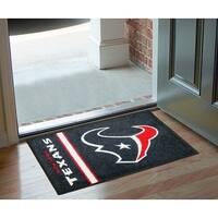 "NFL - Houston Texans Uniform Starter Rug 19""x30"""