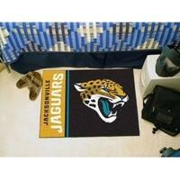 """NFL - Jacksonville Jaguars Uniform Starter Rug 19""""x30"""""""