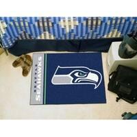 "NFL - Seattle Seahawks Uniform Starter Rug 19""x30"""