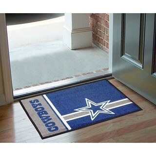 "NFL - Dallas Cowboys Uniform Starter Rug 19""x30"""