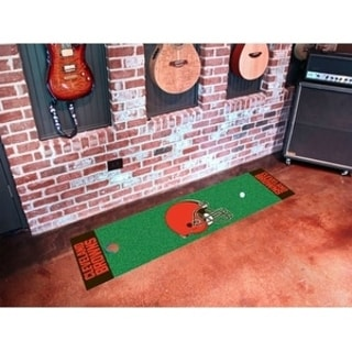 "NFL - Cleveland Browns Putting Green Runner 18""x72"""