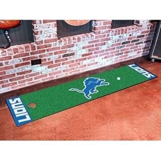 """NFL - Detroit Lions Putting Green Runner 18""""x72"""""""