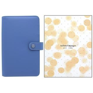 Webster's Pgs Color Crush Binder Periwinkle