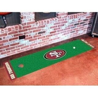 "NFL - San Francisco 49ers Putting Green Runner 18""x72"""