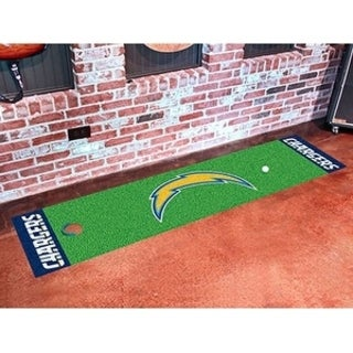 """NFL - San Diego Chargers Putting Green Runner 18""""x72"""""""