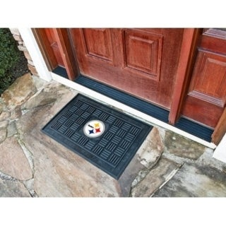 "NFL - Pittsburgh Steelers Door Mat 19.5""x31.25"""