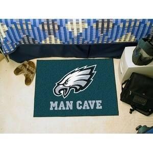 """NFL - Philadelphia Eagles Man Cave Starter Rug 19""""x30"""""""
