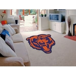 NFL - Chicago Bears Mascot Mat Approx. 3 ft x 4 ft
