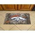 "Link to NFL - Denver Broncos Scraper Mat 19""x30"" - Camo Similar Items in Fan Shop"