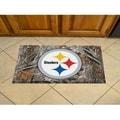 "Link to NFL - Pittsburgh Steelers Scraper Mat 19""x30"" - Camo Similar Items in Fan Shop"