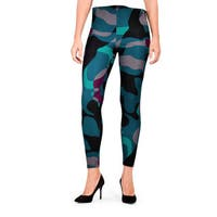 G21 Women's Blue Jungle Basic Legging