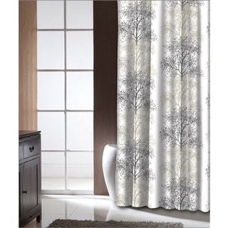 Famous Home Enchanted Tan Shower Curtain