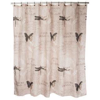 Famous Home Papillion Shower Curtain