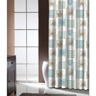Famous Home Seaside Shower Curtain