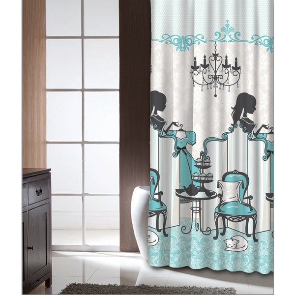 Famous Home Tea Time Shower Curtain
